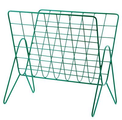 Porte-revues / 27 x 37 cm - House Doctor vert en métal