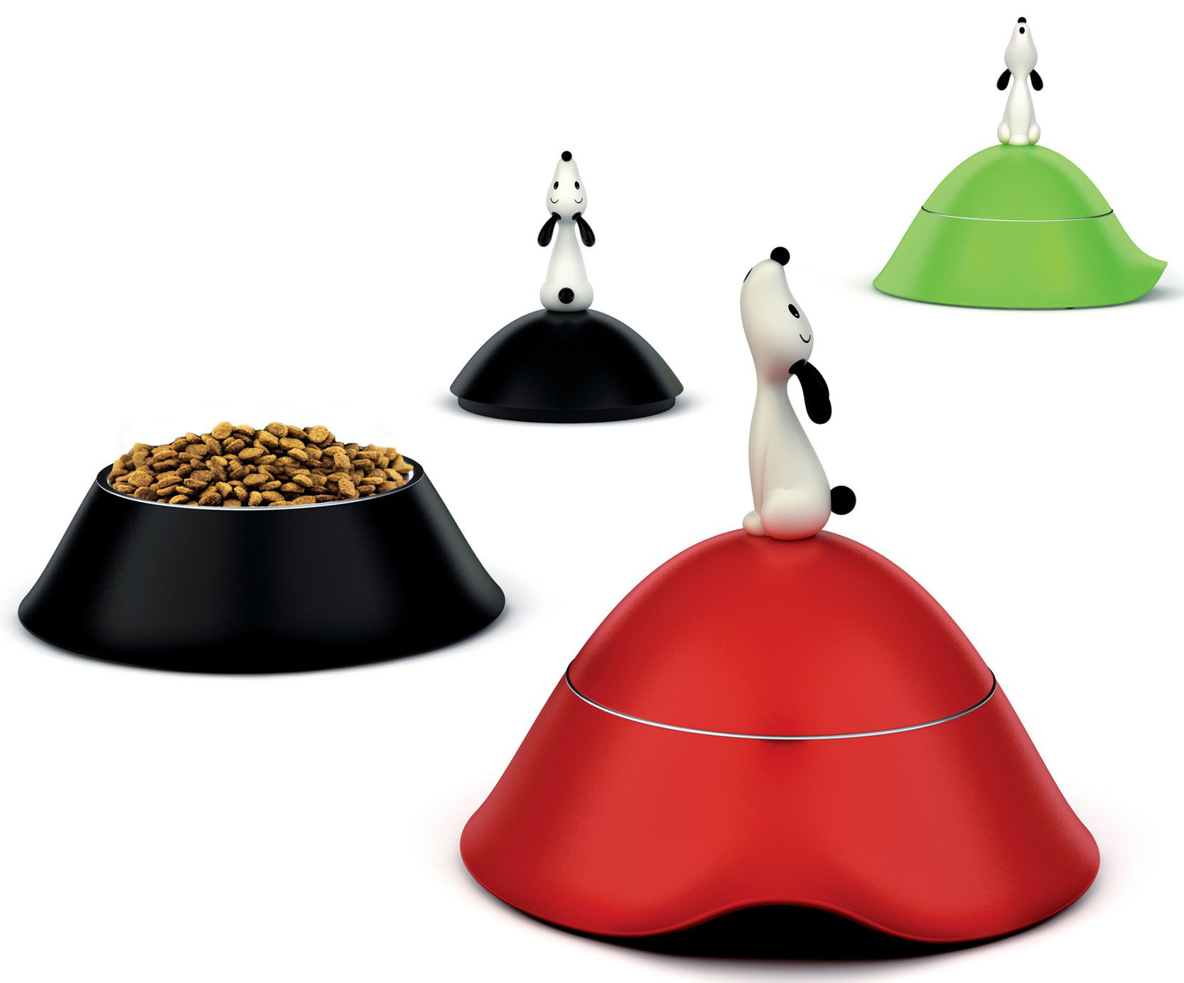 Gamelle Lul Pour Chien Rouge A Di Alessi