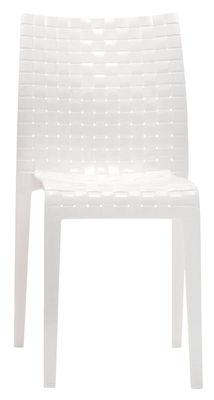 Foto Sedia impilabile Ami Ami di Kartell - Bianco brillante - Materiale plastico