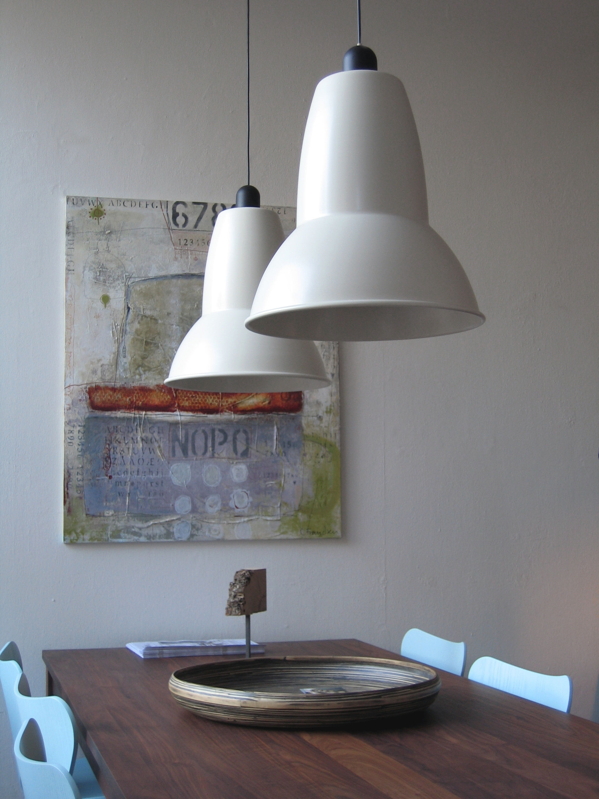Giant 1227 pendant h 565 cm cobalt blue by anglepoise aloadofball Gallery