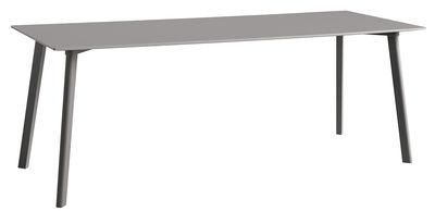 Table Copenhague CPH DEUX 210 / 200 x 75 cm - Hay gris en bois