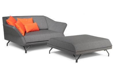 pouf shogun gris skitsch. Black Bedroom Furniture Sets. Home Design Ideas