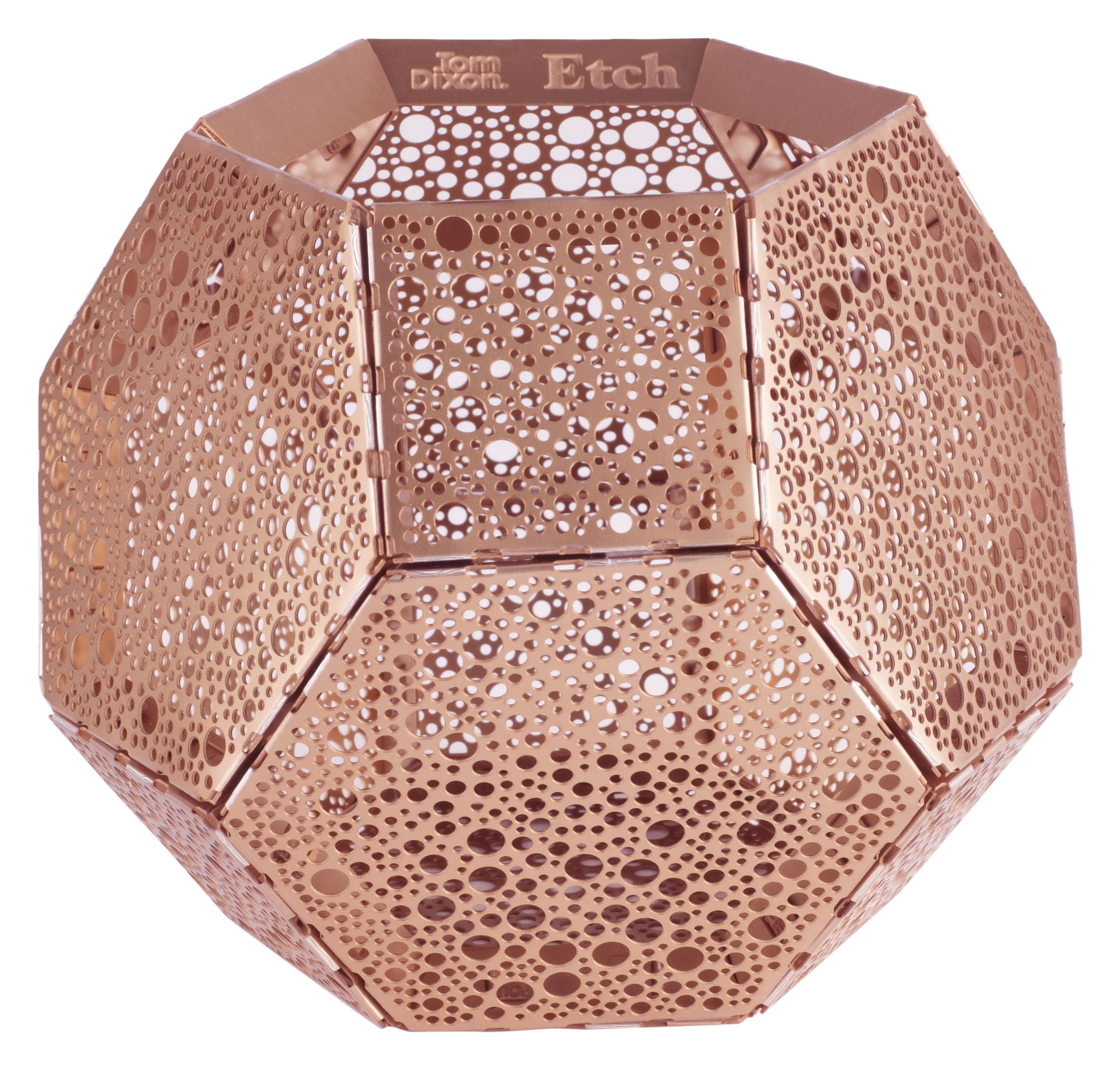 etch candle holder copper by tom dixon. Black Bedroom Furniture Sets. Home Design Ideas