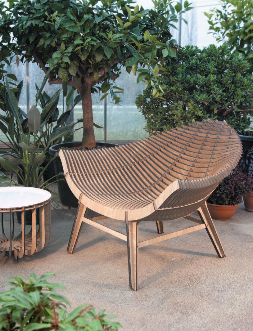fauteuil bas manta stratifi int rieur ext rieur gris ibride. Black Bedroom Furniture Sets. Home Design Ideas