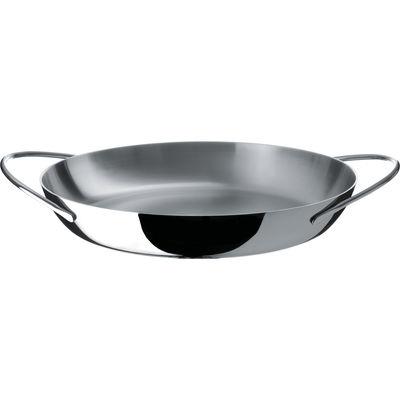 Foto Pentola Domenica con coperchio - Ø 34 cm - Alessi - Acciaio inossidabile - Metallo Casseruola