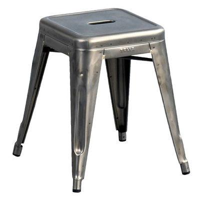 Tabouret empilable H / Acier brut - Modèle d´expo - Tolix acier brut en métal