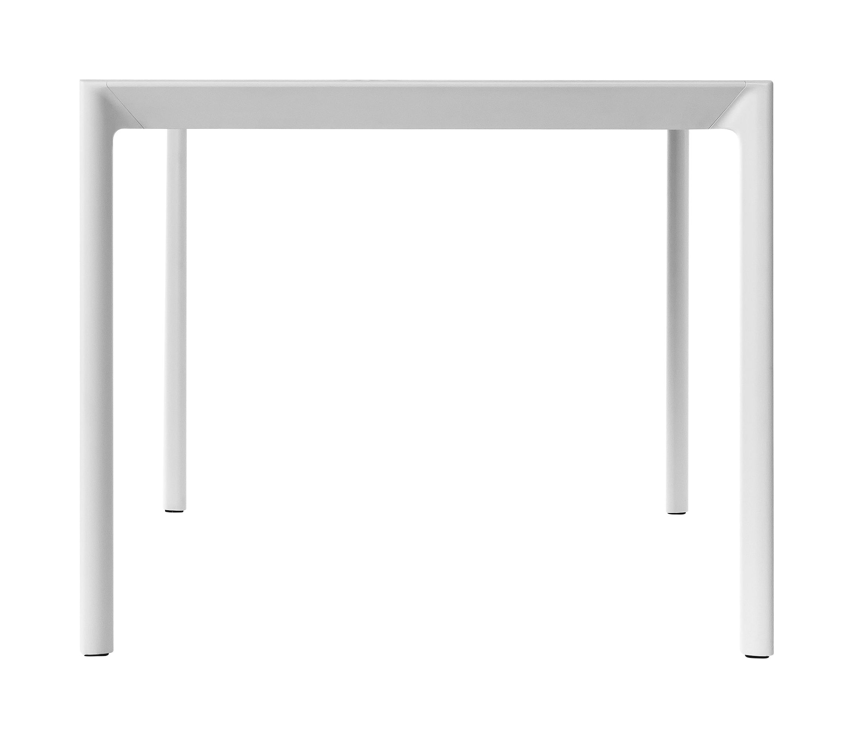 table maki 140 x 90 cm c ramique dekton blanc kristalia. Black Bedroom Furniture Sets. Home Design Ideas