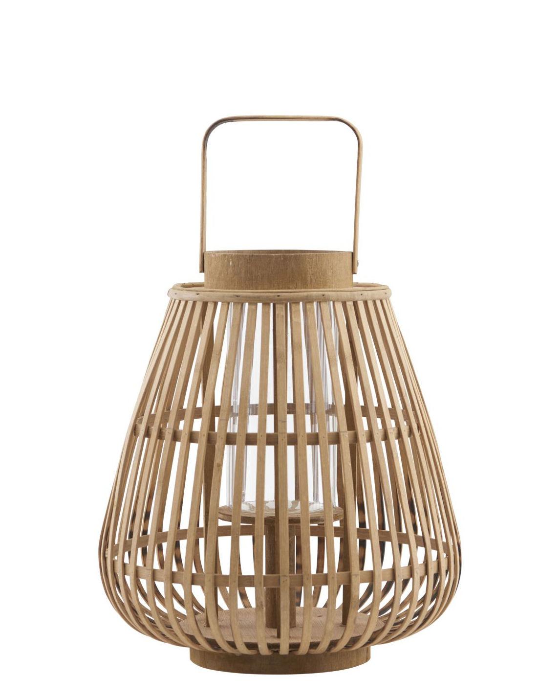 valu bambus h 33 cm house doctor laterne. Black Bedroom Furniture Sets. Home Design Ideas