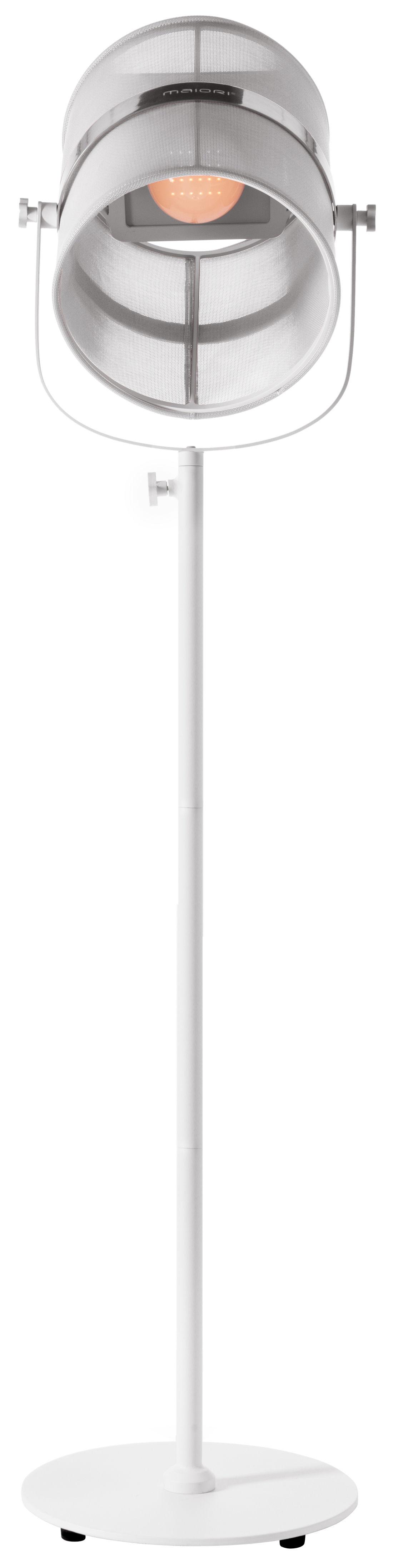 lampadaire solaire la lampe paris led sans fil blanc pied blanc maiori made in design. Black Bedroom Furniture Sets. Home Design Ideas