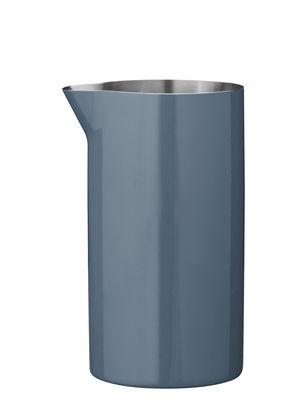 Cuisine - Sucriers, crémiers - Crémier Cylinda-Line / 15 cl - Arne Jacobsen, 1967 - Stelton - Bleu océan - Acier inoxydable émaillé