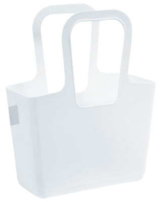 Accessori moda - Borse, Valigie e Portafogli - Cestino Taschelino di Koziol - Bianco - Materiale plastico