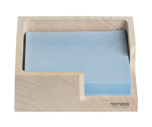 Wooden clip board natural wood by nomess for Bloc porte 80