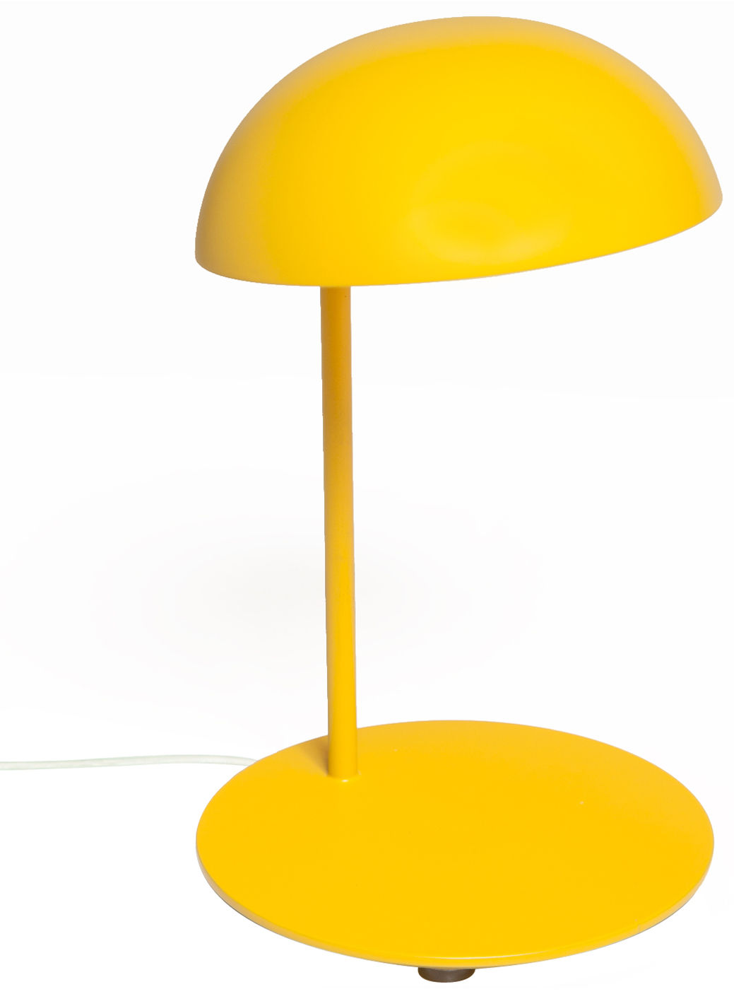 Pokko table lamp jaune by gallery s bensimon for Design table lamp giffy 17 7