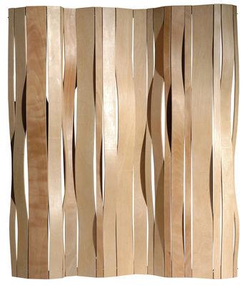 Swell paravento pioppo naturale by vange made in design - Separe in legno ikea ...