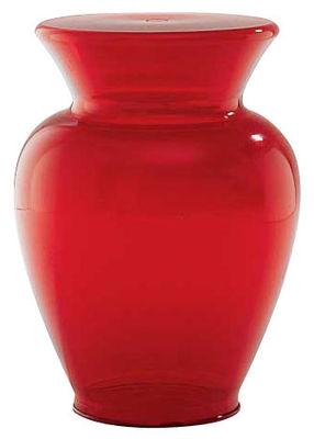 Vase Gargantua H 42,5 Modèle d'exposition Kartell rouge en matière plastique