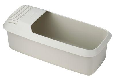 Cuisine - Ustensiles de cuisines - Cuiseur micro-ondes M-Cuisine / Pour pâtes - Passoire intégrée - Joseph Joseph - Pierre/Orange - Polypropylène