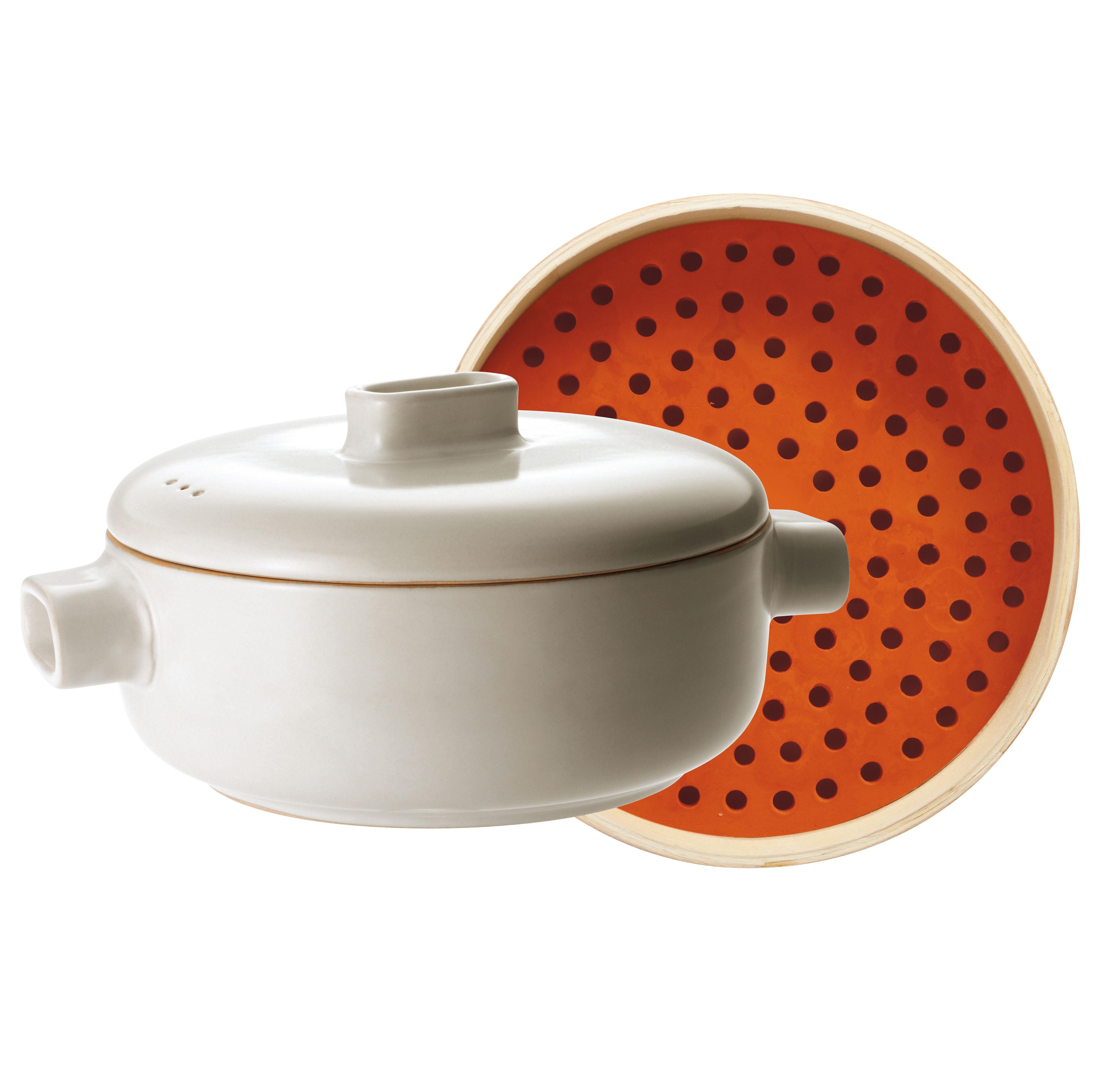 cuiseur vapeur steamer set set cocotte panier vapeur blanc bois jia. Black Bedroom Furniture Sets. Home Design Ideas