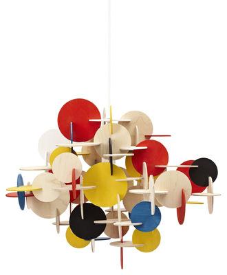 Foto Sospensione Bau small Small - Multicolore - Legno Normann Copenhagen