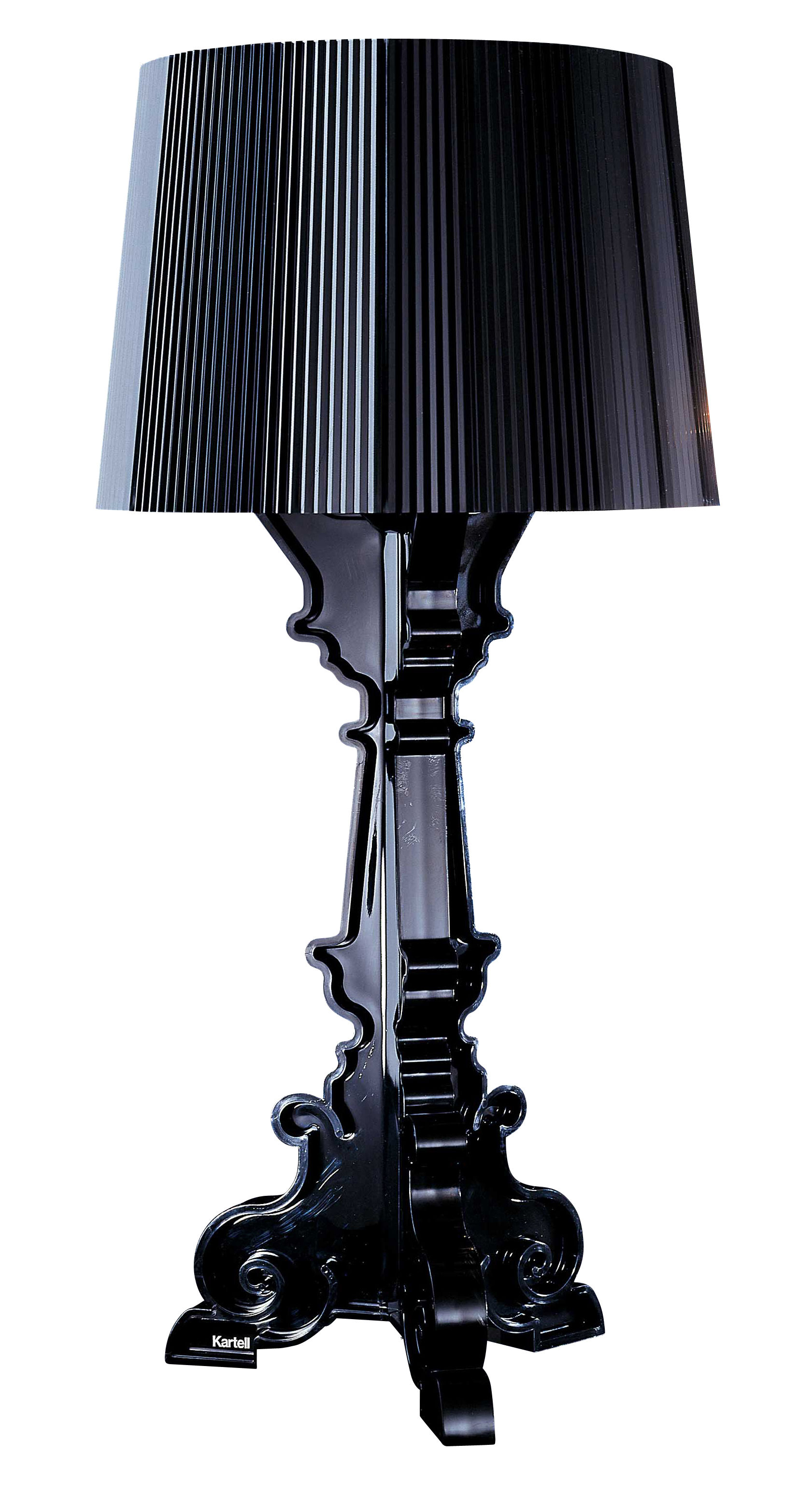 bourgie table lamp black by kartell. Black Bedroom Furniture Sets. Home Design Ideas