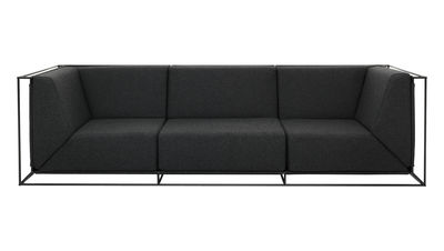 Furniture Sofas Floating Straight Sofa 3 Seaters L 267 Cm Web
