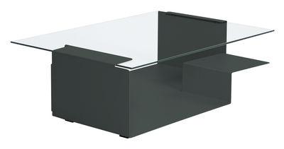 Tavolino Diana D di ClassiCon - Grigio basalto - Metallo