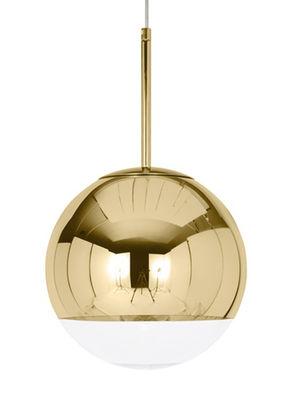 Mirror Ball Pendelleuchte / Ø 50 cm - Tom Dixon - Gold