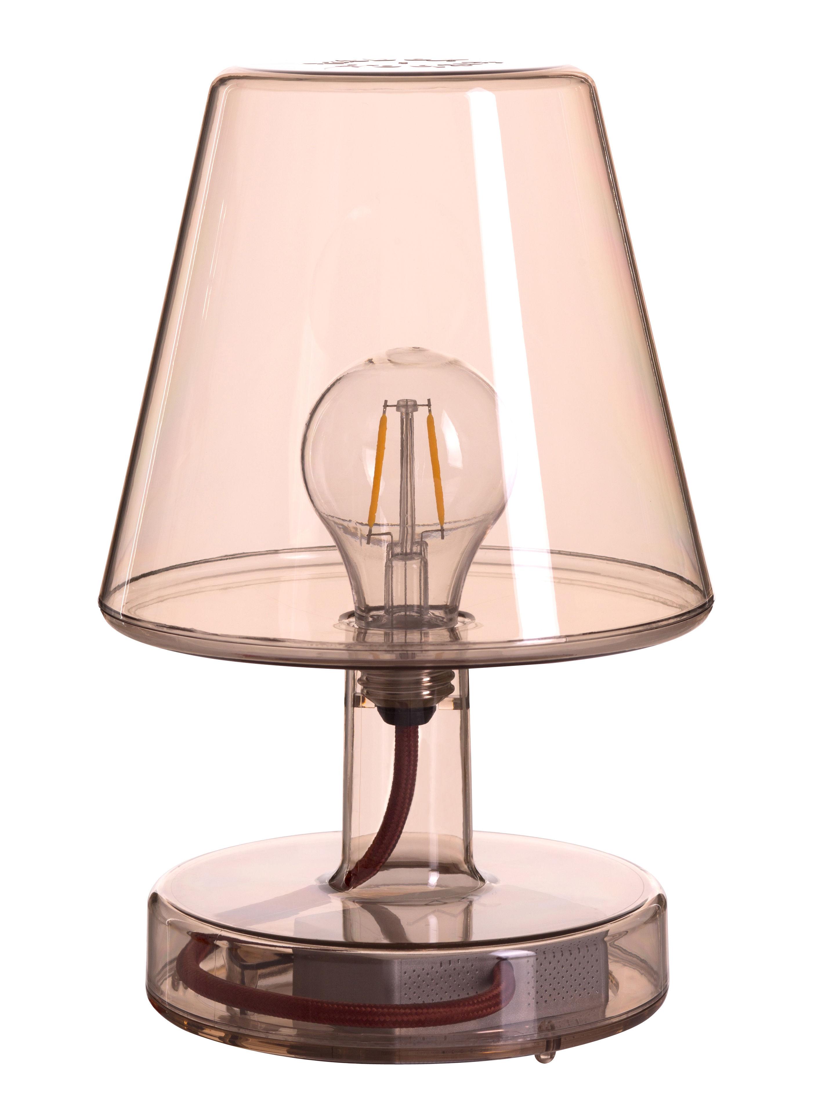 lampe sans fil transloetje led 16 x h 25 cm marron fatboy. Black Bedroom Furniture Sets. Home Design Ideas