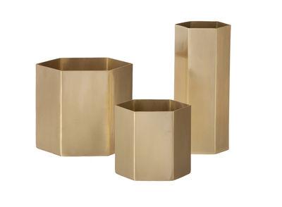 hexagon large gro ferm living blumentopf. Black Bedroom Furniture Sets. Home Design Ideas