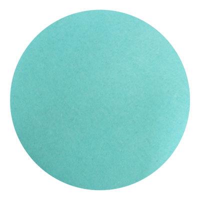 Mobilier - Tabourets bas - Coussin d'assise / Pour tabouret Stool & Storage - Design Letters - Turquoise - Laine