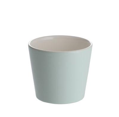 Image of Tazzina da caffè Tonale - Alessi - Bianco,Verde - Ceramica