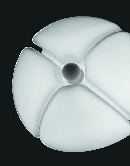 Pipistrello lampada da tavolo alluminio satinato by - Lampada da tavolo pipistrello ...