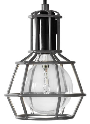 Lampe Work / à poser ou suspendre - Edition limitée - Design House Stockholm gris en métal