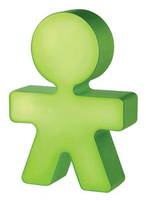 Veilleuse Girotondo / Veilleuse LED - H 20 cm - Alessi vert en matière plastique