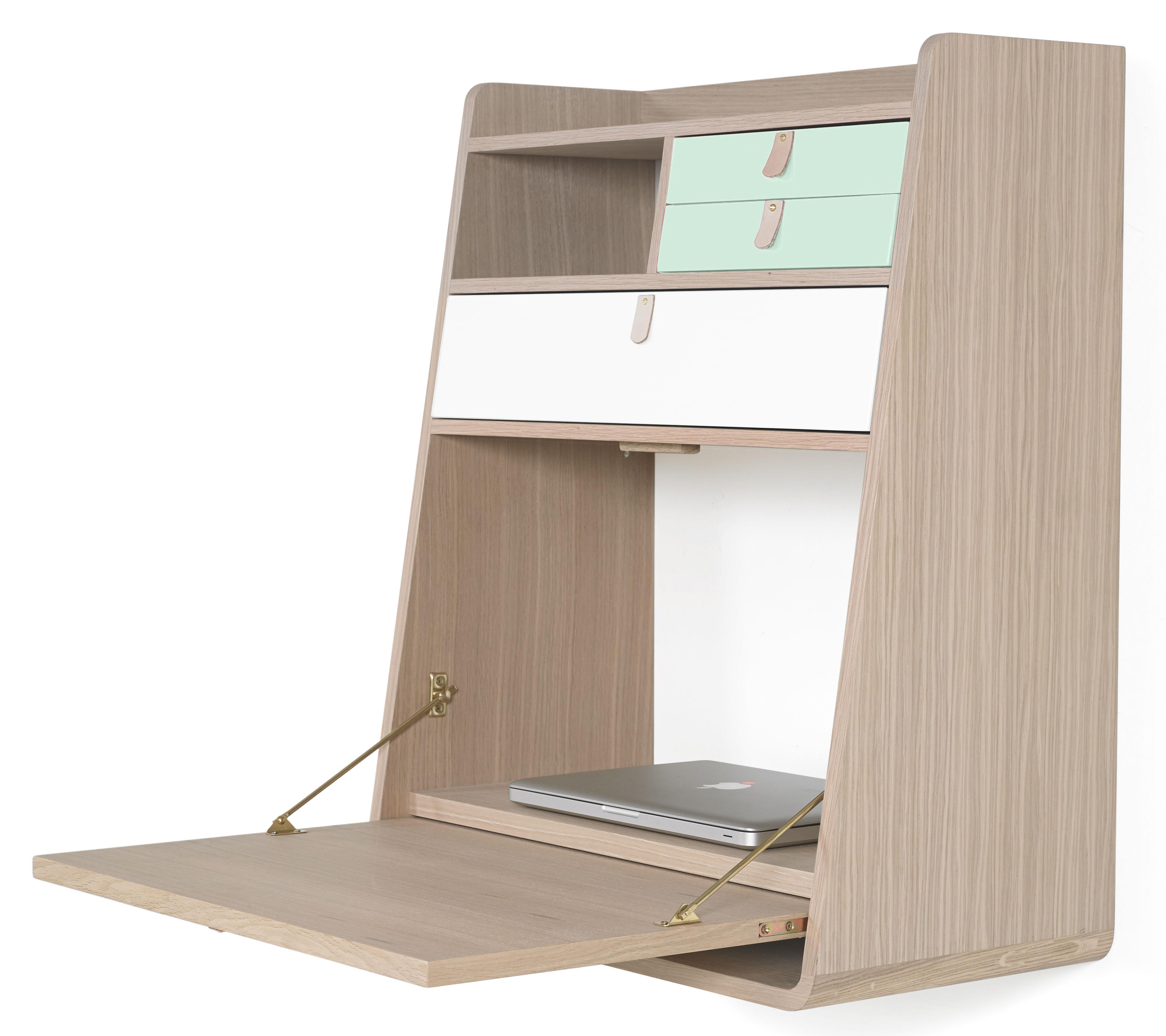 gaston l 60 cm x h 72 cm hart wand schreibtisch. Black Bedroom Furniture Sets. Home Design Ideas