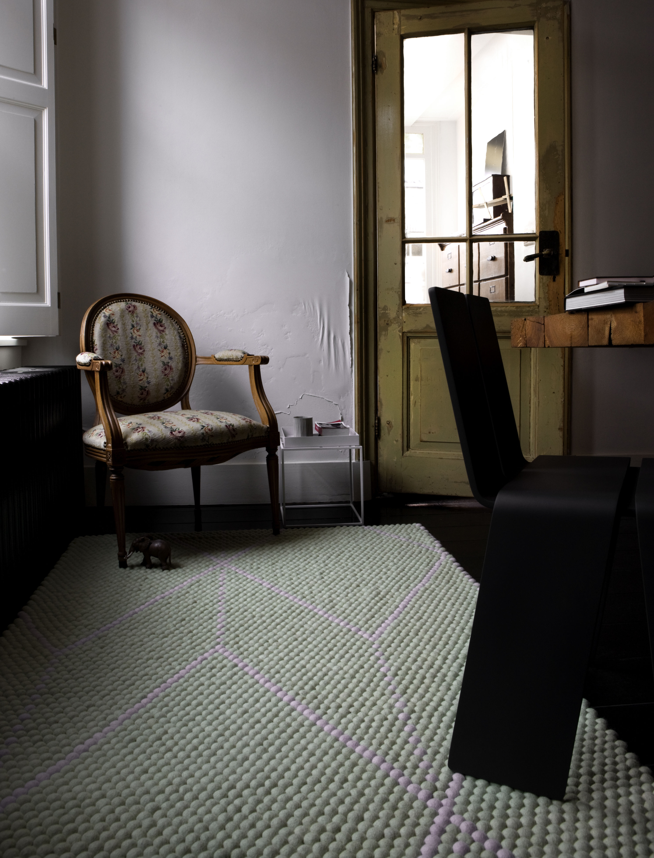 tapis s b dot 200 x 150 cm mauve vert clair hay. Black Bedroom Furniture Sets. Home Design Ideas