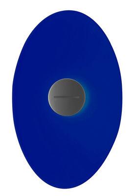 Bit 2 Wandleuchte mit Stromkabel - Foscarini - Blau
