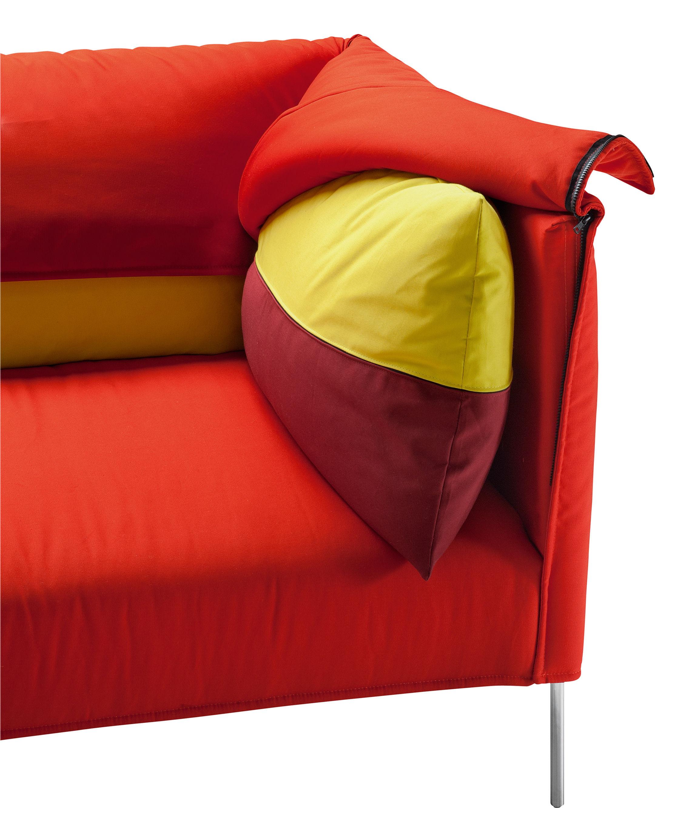 undercover 3 sitzer l 257 cm zanotta sofa. Black Bedroom Furniture Sets. Home Design Ideas