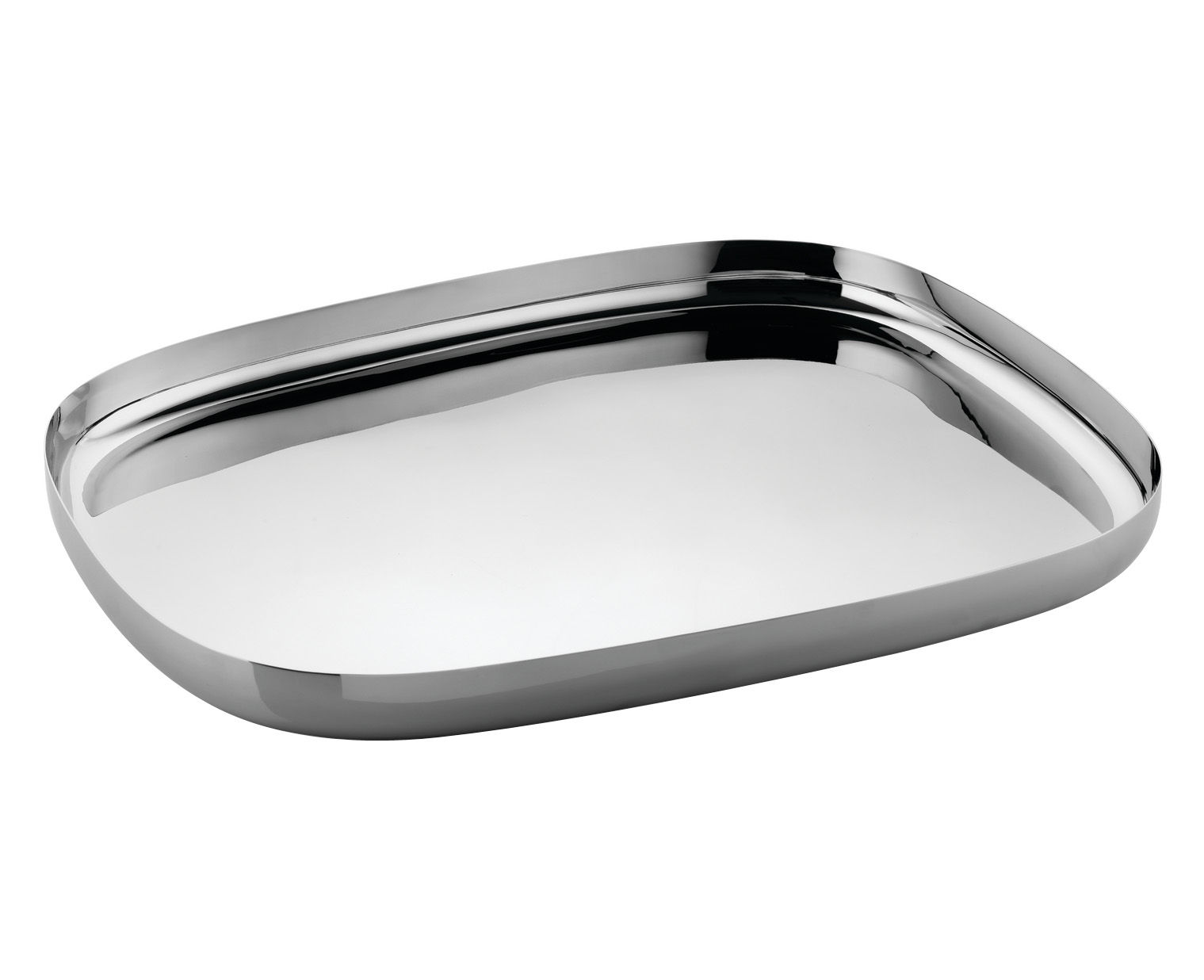 ovale tray polished stainless steel by alessi. Black Bedroom Furniture Sets. Home Design Ideas