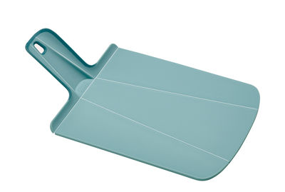 Cuisine - Ustensiles de cuisines - Planche à découper Chop2pot Mini / Pliable - L 32 cm - Joseph Joseph - Bleu clair - Polypropylène