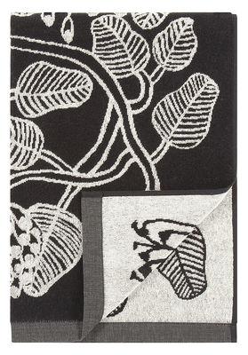 Déco - Textile - Drap de bain Tiara / 70 x 150 cm - Marimekko - Tiara / Blanc & Noir - Coton