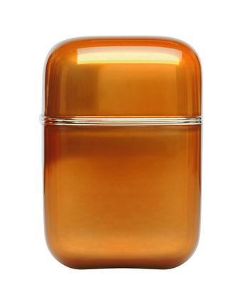 Bougie parfumée Oyster / Kartell Frangrances - H 19 cm - Kartell ambre en matière plastique