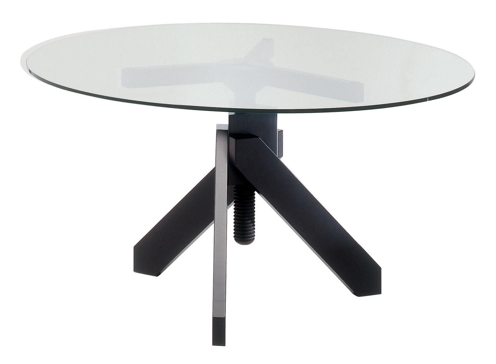 scopri tavolo vidun altezza regolabile nero di de padova