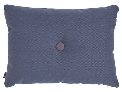 Coussin Dot - Steelcut Trio / 60 x 45 cm - Hay bleu foncé en tissu