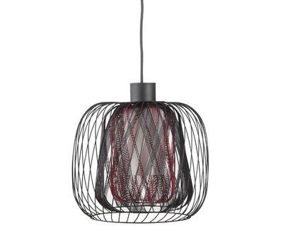 disegno lampadari Tessuto : Lampadario a sospensione Camera/ingresso Goccia diametro 30 cm h 45 cm ...