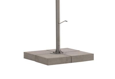 Pied de parasol Inumbra / Béton - Pour parasols Inumbra - Extremis béton en métal