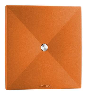 Dessous de verre Lot de 4 - Eva Solo orange en métal