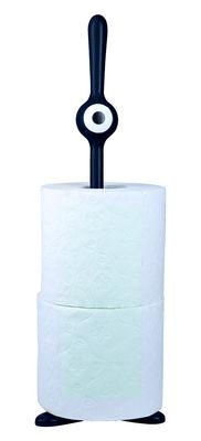 Cucina - Pratici e intelligenti - Portarotolo asciugatutto Toq di Koziol - Nero - Polipropilene