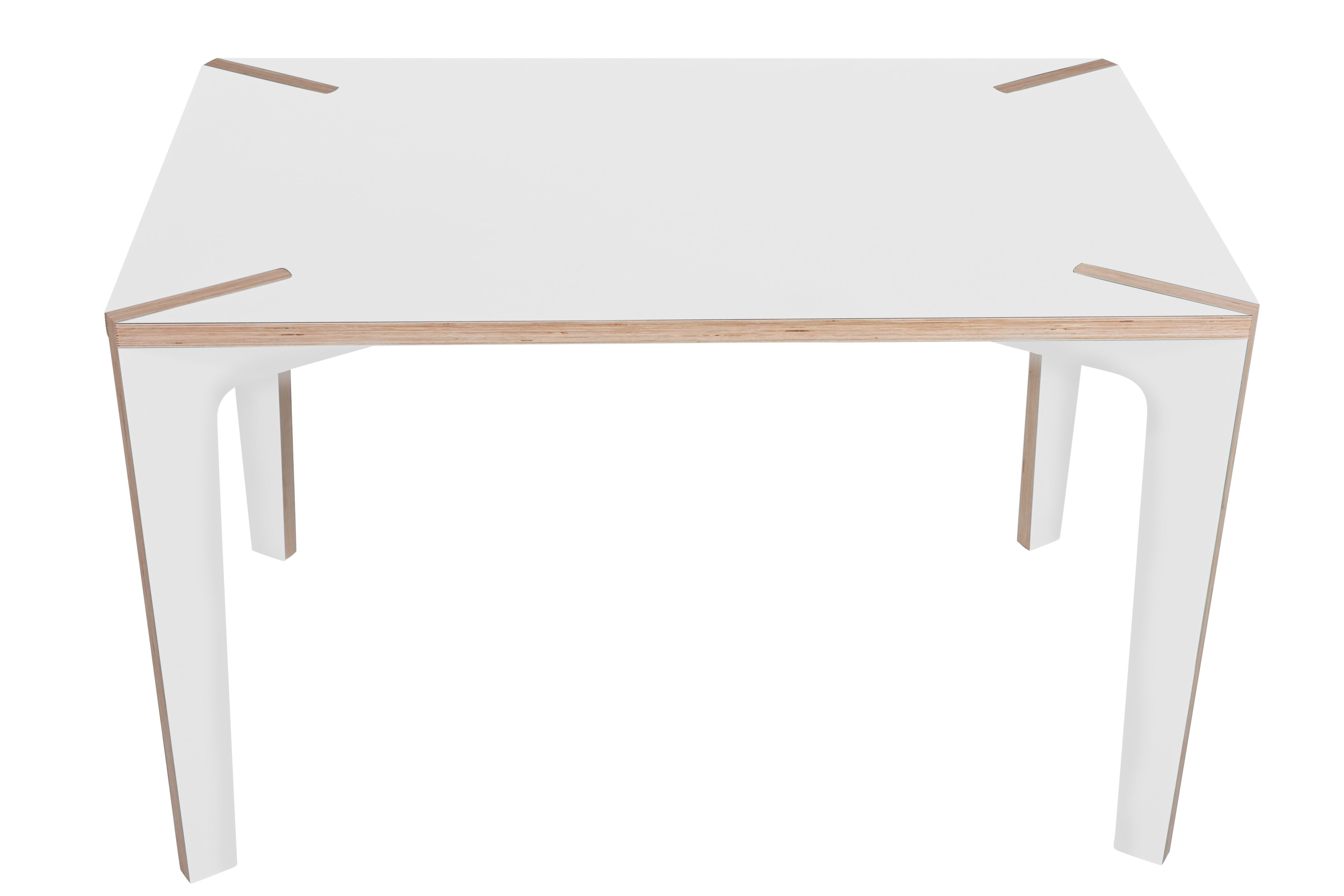 Table s rie x 120 x 75 cm 120 x 75 cm blanc gris la for Serie a table 99 00