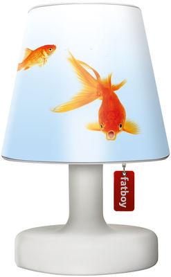 Abat-jour Cooper Cappie / Pour lampe Edison the Petit - Fatboy blanc,orange en matière plastique