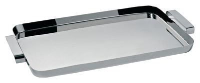 Plateau Tau / 54 x 32 cm - Alessi inox en métal
